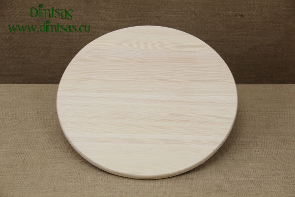 Wooden Cutting Surface - Wooden Serving Plate Round No4
