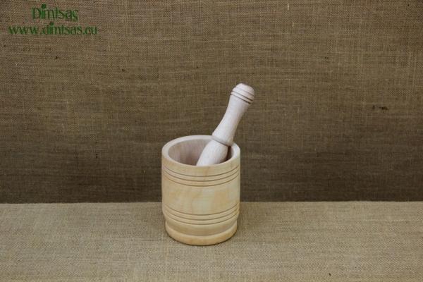 Wooden Mortar 9 cm
