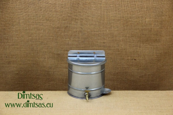 Vintage Galvanized Water Dispenser 15 liters Green