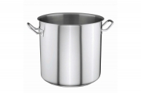 Stock Pot Stainless Steel 32x32 1.4 mm with Sandwich Bottom 25 lit Eighth Depiction