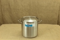 Stock Pot Stainless Steel 32x32 1.4 mm with Sandwich Bottom 25 lit Second Depiction