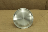 Stock Pot Stainless Steel 32x32 1.4 mm with Sandwich Bottom 25 lit Third Depiction