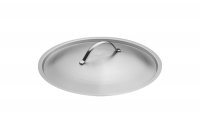 Stock Pot Stainless Steel 32x32 1.4 mm with Sandwich Bottom 25 lit Seventh Depiction
