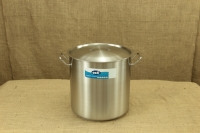 Stock Pot Stainless Steel 36x36 1.4 mm with Sandwich Bottom 35 lit First Depiction