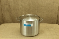 Stock Pot Stainless Steel 40x32 1.4 mm with Sandwich Bottom 40 lit First Depiction