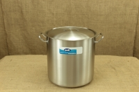 Stock Pot Stainless Steel 40x40 1.4 mm with Sandwich Bottom 50 lit First Depiction