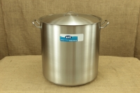Stock Pot Stainless Steel 50x50 1.4 mm with Sandwich Bottom 100 lit First Depiction