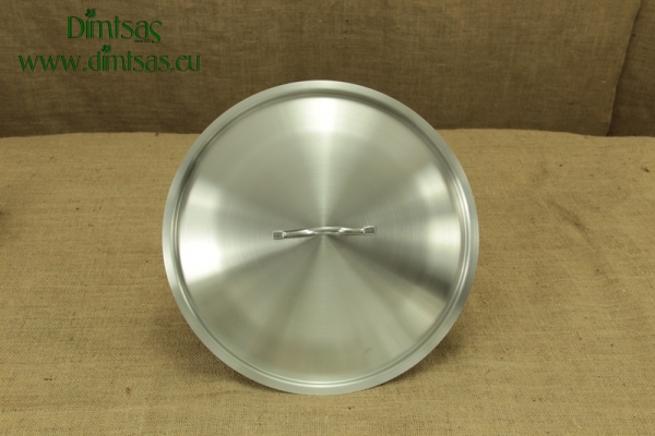 Lid Stainless Steel 36 cm 1.2 mm Dome shaped