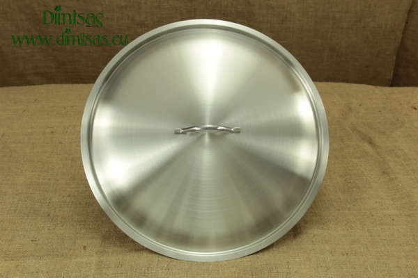 Lid Stainless Steel 45 cm 1.2 mm Dome shaped