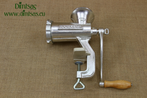 Stainless Steel Meat Mincer Tre Spade No8