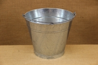 Iron Bucket Conical Galvanized No2 9 liters Third Depiction