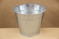 Iron Bucket Conical Galvanized No2 9 liters Fourth Depiction