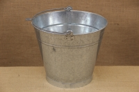 Iron Bucket Conical Galvanized No2 9 liters Fifth Depiction