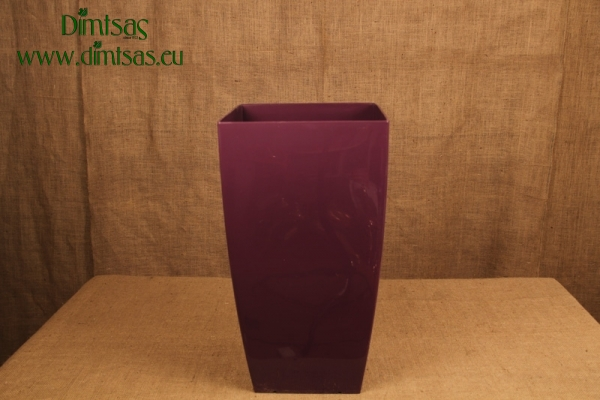 Πλαστική Γλάστρα Αφροδίτη Μώβ ή Royal Purple Σατέν