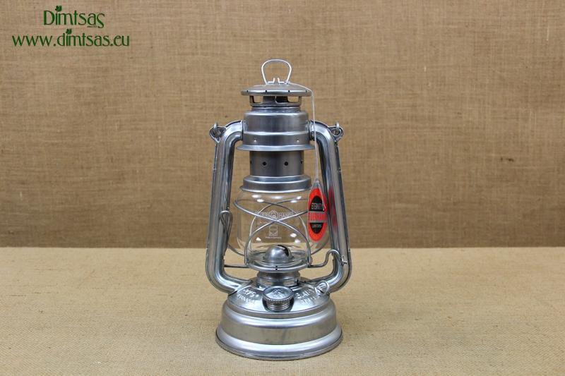FEUERHAND® hurricane lantern 276 Baby Special dark-red galvanized