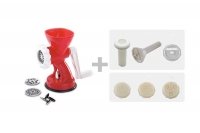 Plastic Cookie Maker, Meat Grinder & Pasta Inox Thirtieth Depiction