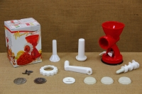 Plastic Cookie Maker, Meat Grinder & Pasta Inox First Depiction