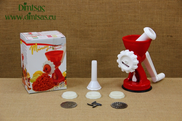 Plastic Cookie Maker, Meat Grinder & Pasta Inox