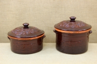 Clay Casserole 8 Liters Brown Tenth Depiction