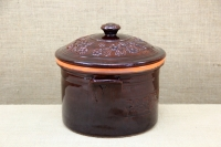 Clay Casserole 8 Liters Brown Second Depiction