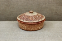 Clay Dutch Oven 6 Liters Beige First Depiction