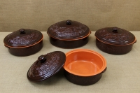 Clay Dutch Oven 4 Liters Brown Eleventh Depiction