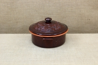Clay Dutch Oven 4 Liters Brown Second Depiction