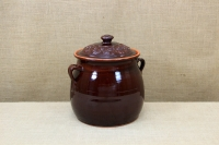 Clay Crock Pot Handmade 14 Liters Brown First Depiction