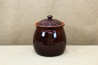 Clay Crock Pot Handmade 14 Liters Brown Second Depiction