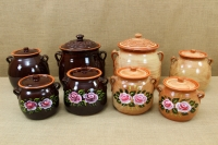 Clay Crock Pot Handmade 14 Liters Brown Ninth Depiction