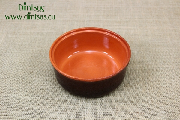 Clay Cocotte - One Pot Meal Oval Brown
