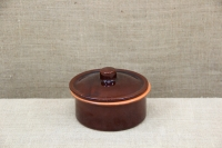 Clay Cocotte - One Pot Meal No1 Brown with Lid First Depiction