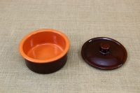 Clay Cocotte - One Pot Meal No1 Brown with Lid Third Depiction