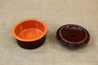 Clay Cocotte - One Pot Meal No1 Brown with Lid Fourth Depiction