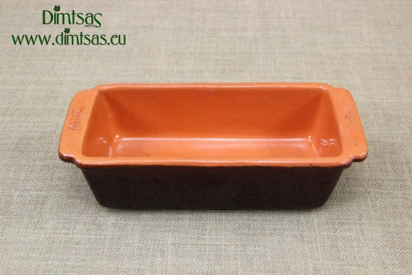 Clay Loaf Pan Brown