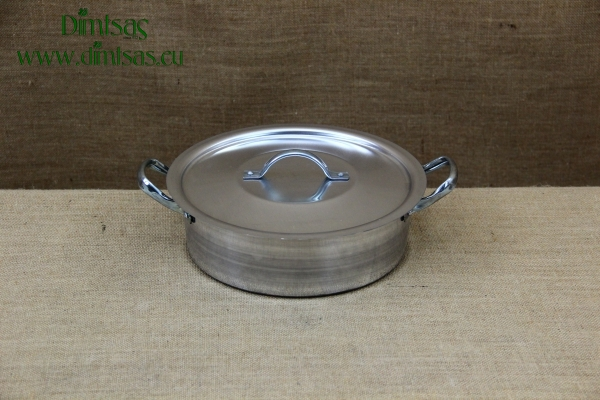 Aluminium Round Baking Pan No40 14 liters