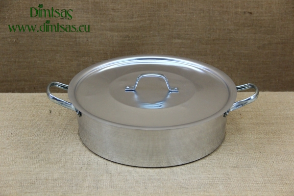 Aluminium Round Baking Pan No34 7.5 liters