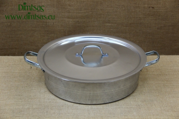 Aluminium Round Baking Pan No36 8 liters