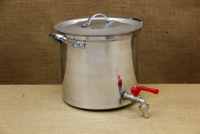 Aluminium Stockpot with Tap 9.5 liters First Depiction