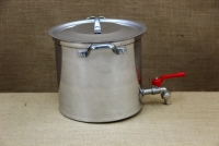 Aluminium Stockpot with Tap 9.5 liters Second Depiction