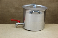 Aluminium Stockpot with Tap 9.5 liters Fourth Depiction