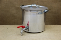 Aluminium Stockpot with Tap 9.5 liters Fifth Depiction