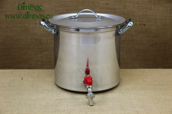 Aluminium Stockpot with Tap 12 liters