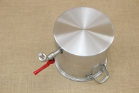 Aluminium Stockpot with Tap 9.5 liters Sixth Depiction