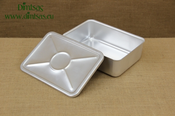 Ice Cream Container Aluminium No1