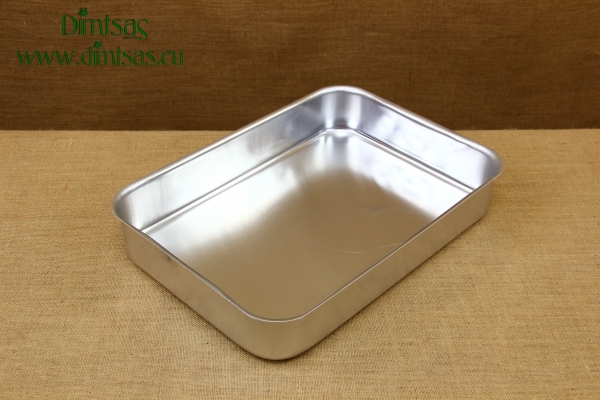 Aluminium Rectangular Roasting Pan Pressed No5
