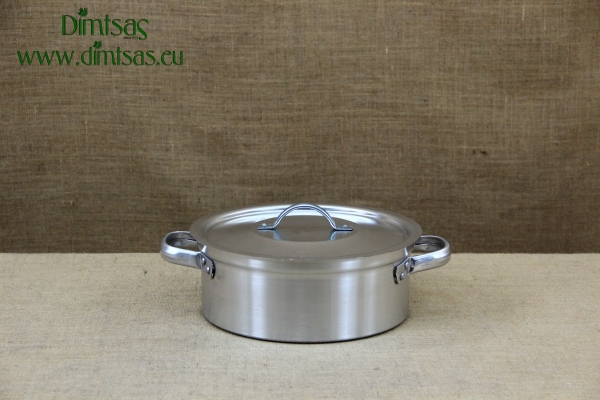 Aluminium Round Baking Pan Professional No26 5 liters