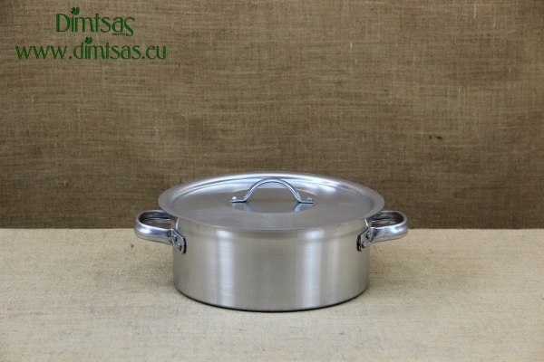 Aluminium Round Baking Pan Professional No28 6 liters