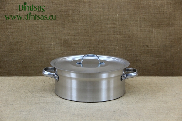 Aluminium Round Baking Pan Professional No30 8 liters
