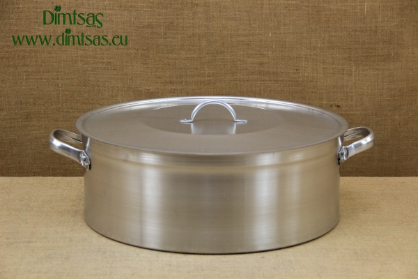 Aluminium Round Baking Pan Professional No50 30 liters